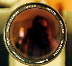 The aperture of a lens or mirror is effectively the diameter of its light collecting region. The light-collecting ability of an objective lens or mirror is related to the square of the aperture.