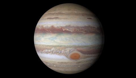 The planet Jupiter (credit: NASA)